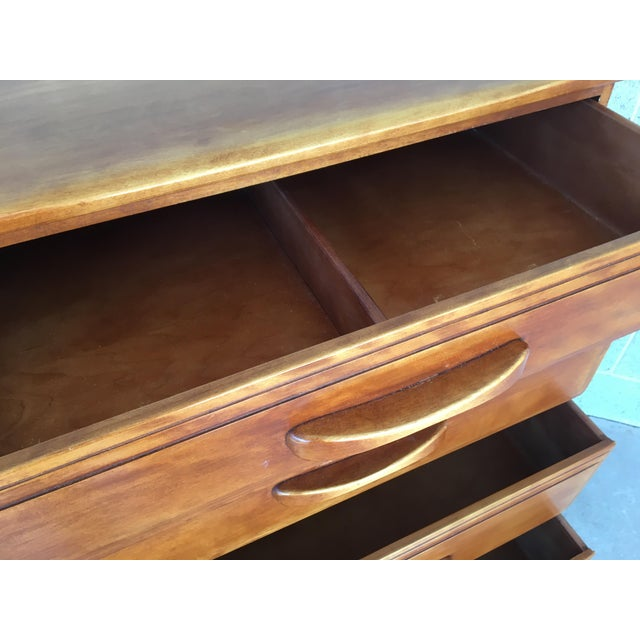 Wood Cushman Colonial Creations Molly Stark Chest of Drawers For Sale - Image 7 of 11