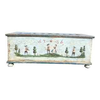 German Reproduction Storage Trunk
