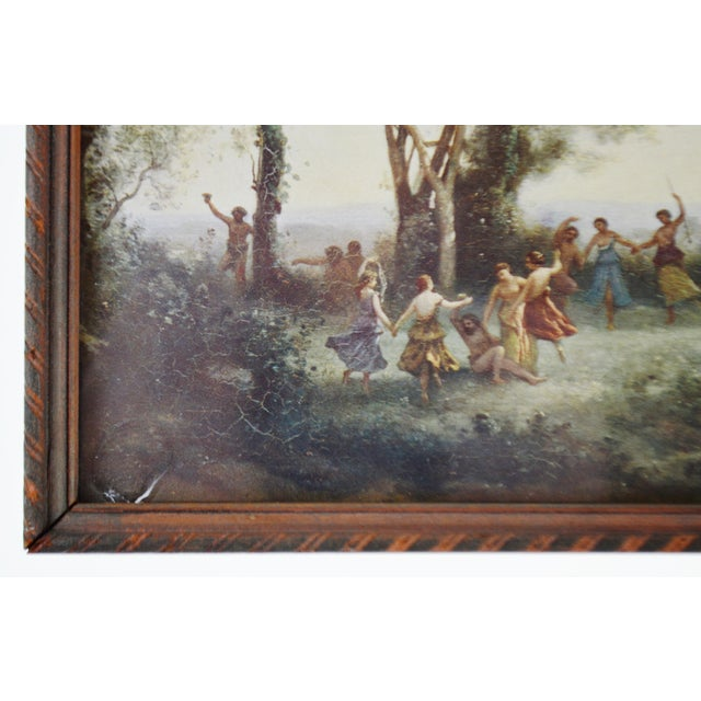 Jean Baptiste Camille Corot Framed Prints - A Pair For Sale - Image 9 of 10