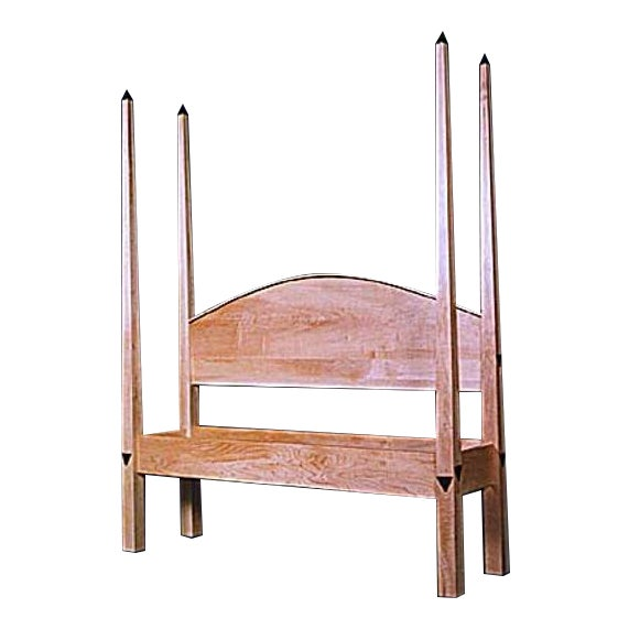 David Burling Obelisk Pencil Post Queen Bedframe - Image 1 of 4