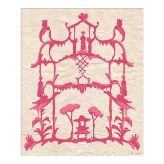 """Folly in Pink"" By Dana Gibson, Framed Art Print For Sale"