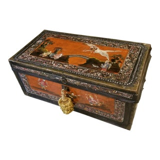 Chinese Export Trunk For Sale