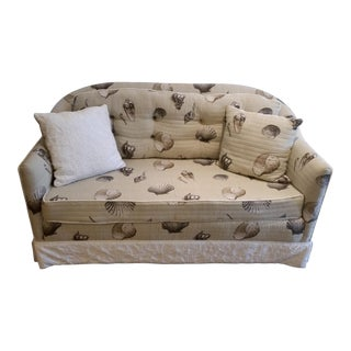 Modern Coastal Cottage Style Loveseat For Sale