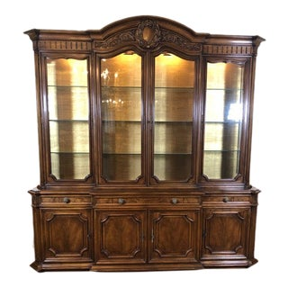 1970s Vintage Karges Louis XV China Cabinet For Sale