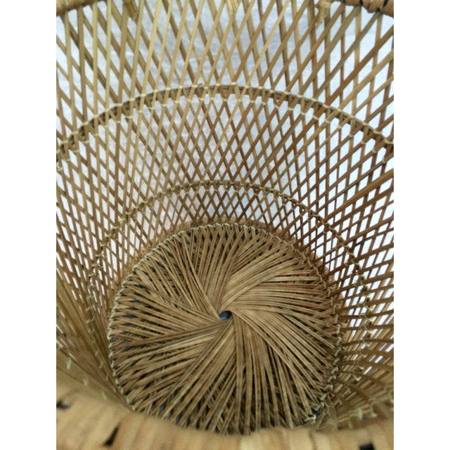 Rattan Wastebasket - Image 6 of 6