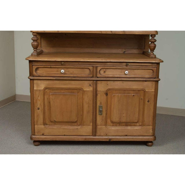 Baroque Style Pine Buffet For Sale In Washington DC - Image 6 of 7