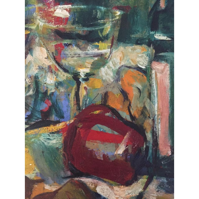 Jonathan Batchelor Expressionist Painting - Image 3 of 10