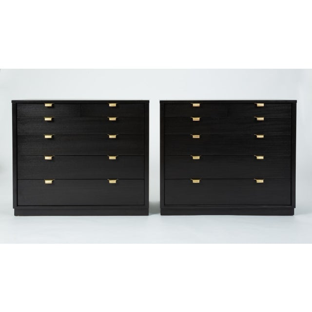 A small chest of drawers from Drexel's notable Precedent line, one of the few collections Edward Wormley produced outside...