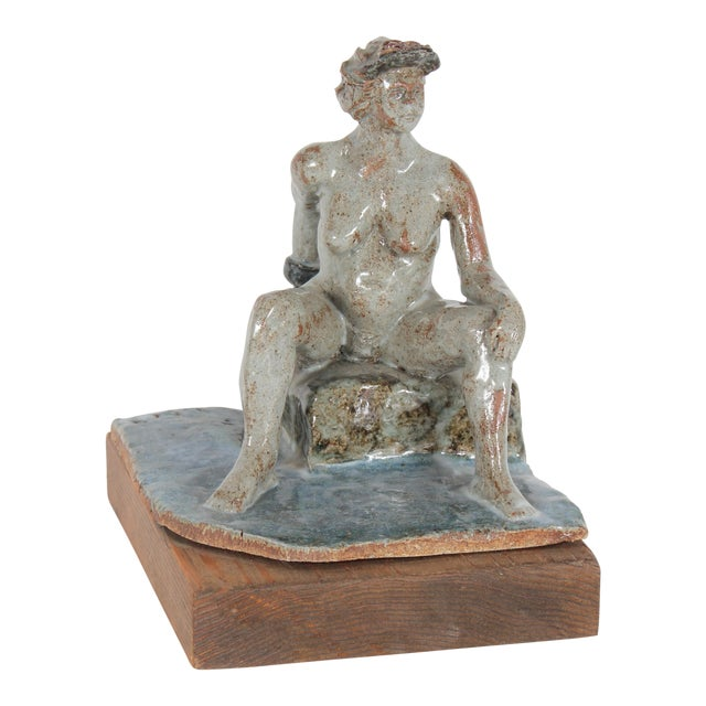 1997 Clay Figure Sculpture by David Fox - Image 1 of 3