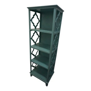 Turquoise Bookshelf