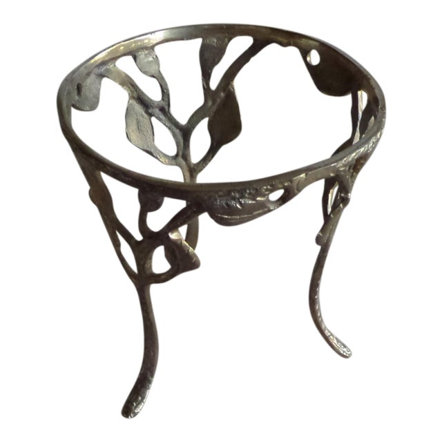 Vintage Solid Brass Branch Stand - Image 1 of 6