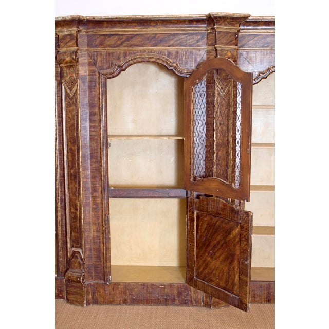 Mid-19th Century Italian Rococo Style Bookcase For Sale - Image 10 of 13
