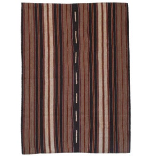 Kilim with Vertical Stripes For Sale