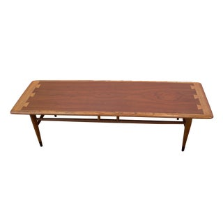 Mid-Century Modern Lane Acclaim Rectangular Coffee Table