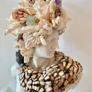 God Apollo Encrusted With Shells Gemstones and Corals Sculpture Preview