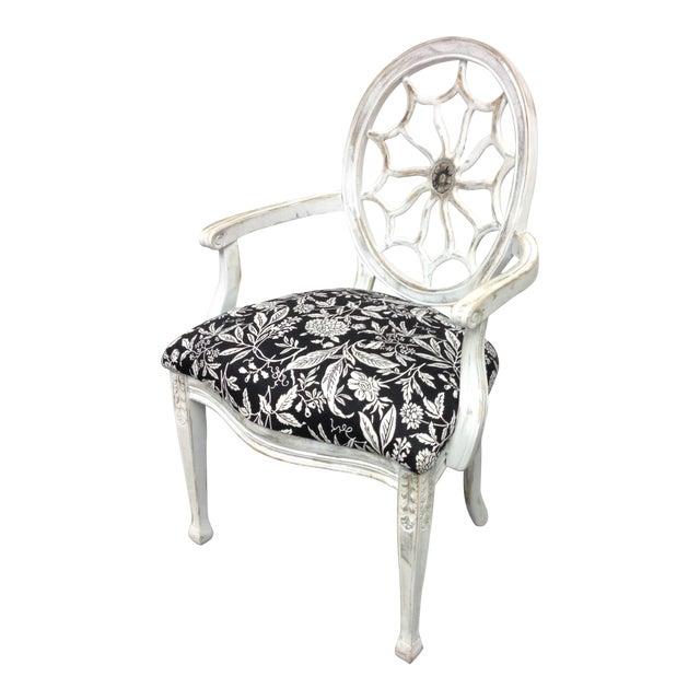 John Widdicomb Medallion Arm Chair - Image 1 of 10