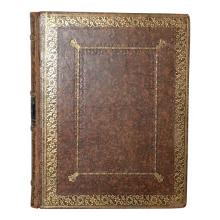 Mid 19th Century Hand Made Leather Bound Ladies Album For Sale