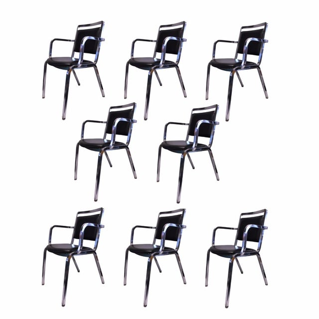 Mid-Century Modern Emeco 1814 Chairs - Set of 8 - Image 1 of 5