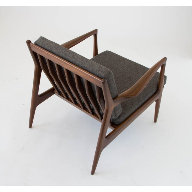 Beech Ib Kofod-Larsen for Selig Lounge Chair For Sale - Image 7 of 11