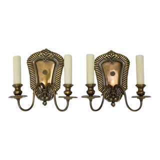 E. F. Caldwell Two Arm Sconces - a Pair For Sale