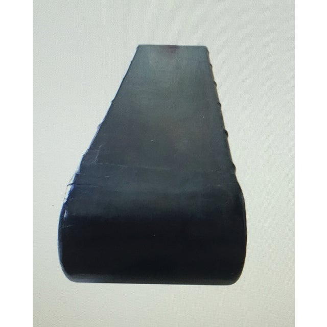 Jf Chen Ebonized Black Scroll Shelf - Image 2 of 4