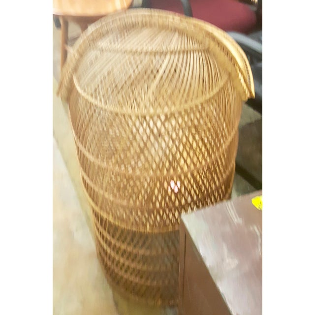 Wicker/Rattan Baby Bassinet For Sale - Image 4 of 4