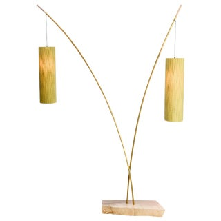 Jamie Violette Mid-Century Modern Floor Lamps - a Pair For Sale
