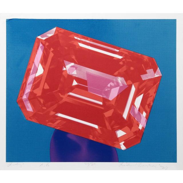 Richard Bernstein, Ruby, Silkscreen For Sale - Image 4 of 5