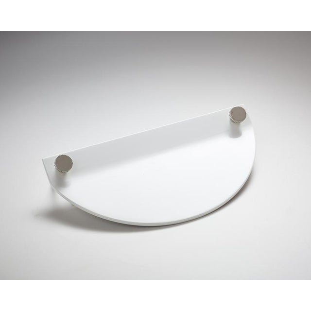 Bauhaus Nest Studio Collection Geo-02 Gloss White Knob For Sale - Image 3 of 3