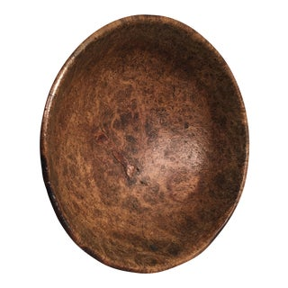 Early 19th Century American Burl Bowl