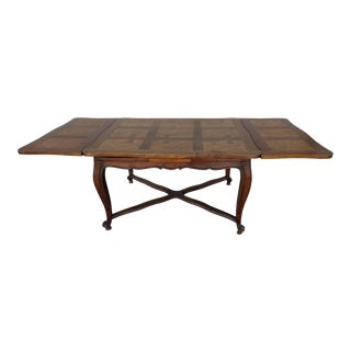 Early 1900's Louis XV Style Parquetry Dining Table