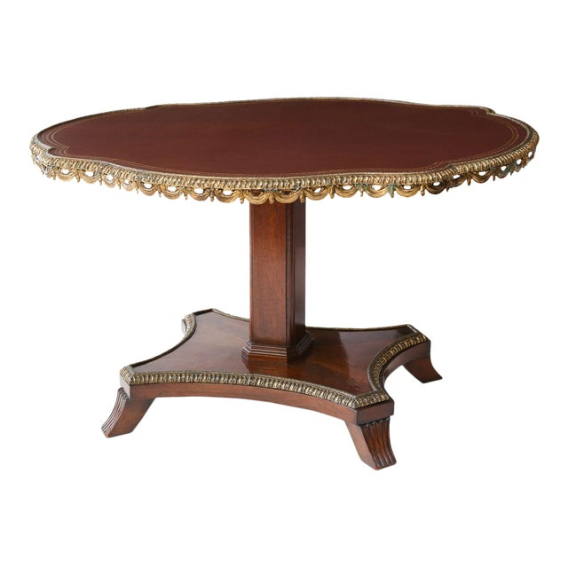 English Regency Center Table For Sale
