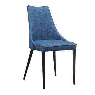 Auwell Chair in Blue - a Pair For Sale