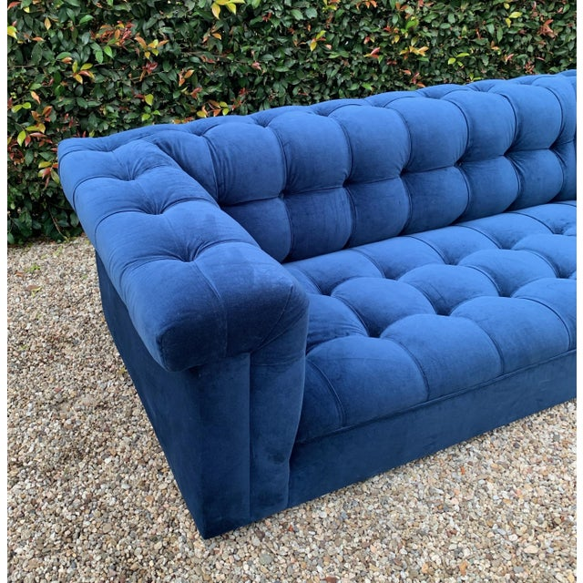 Textile Edward Wormley for Dunbar Party Sofa For Sale - Image 7 of 8