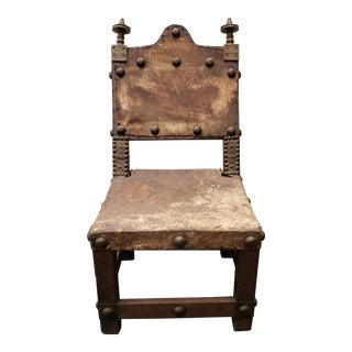 Late 19th Century Ashanti Asipim Royal Court Chair From Ghana For Sale