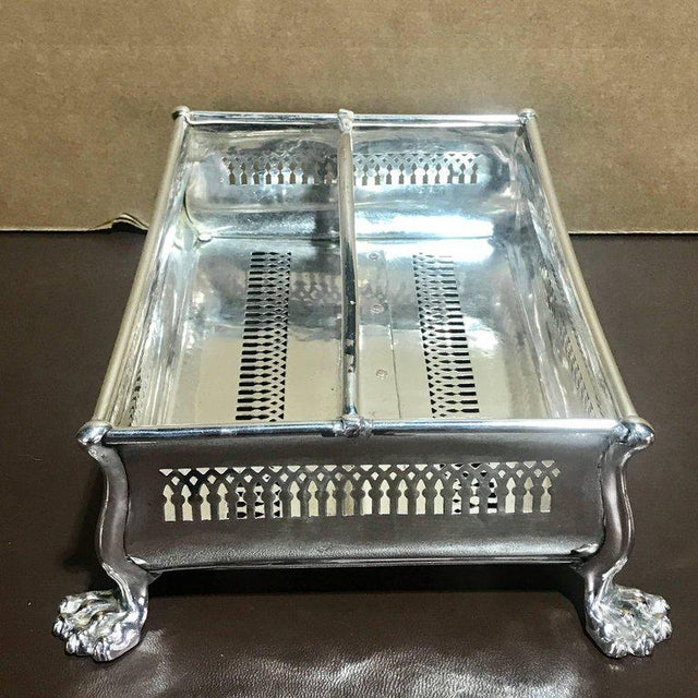 Rare Sheffield Plate Cutlery Box For Sale - Image 4 of 10
