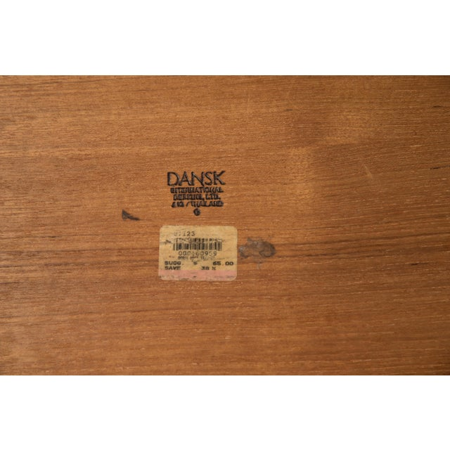 Brown Mid-Century Modern Jens Quistgaard Dansk Teak Tray Gallery Sides - a Set of Three For Sale - Image 8 of 10