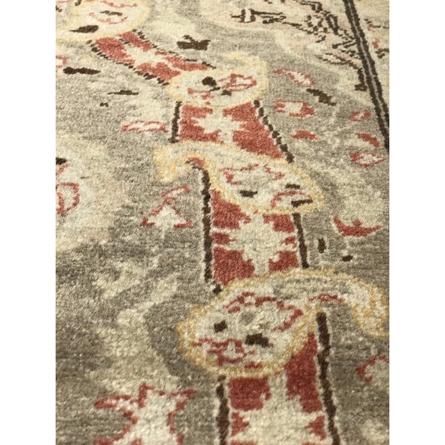 "Bellwether Rugs Antique Turkish Oushak Rug - 4'3""x6'2"" - Image 10 of 10"
