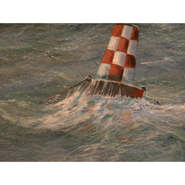 2000 - 2009 Nautical Yacht Racing Oil on Canvas, Michael Whitehand For Sale - Image 5 of 12