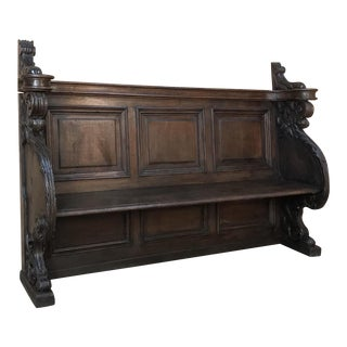 18th Century Baroque Hall Bench For Sale