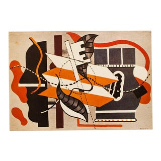 1948 Fernand Léger Dotted Still Life Original Period Parisian Lithograph For Sale