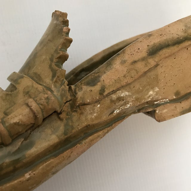 Pottery Loafer Sculpture For Sale - Image 10 of 11