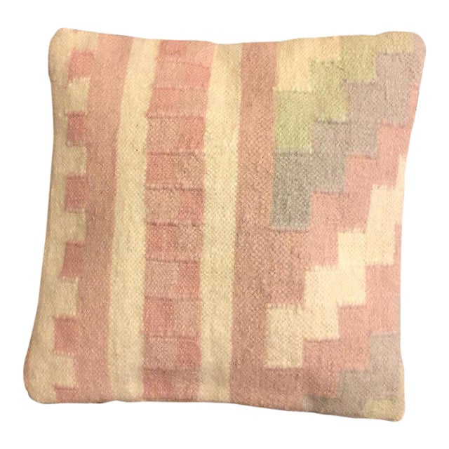 Handmade Anatolian Pillow Cover - Image 1 of 4