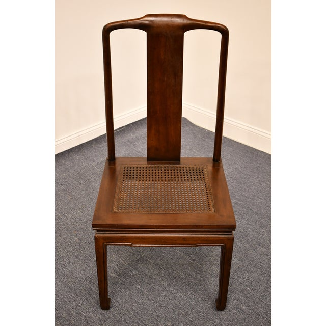 Modern Henredon Furniture Pan Asian Collection Side Chair For Sale - Image 3 of 11