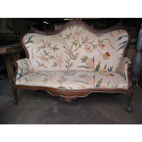 Whimsical original fabric on a classic