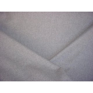 Kvadrat Country Silver Light Grey Pressed Wool Upholstery Fabric - 4 1/8 Yards For Sale