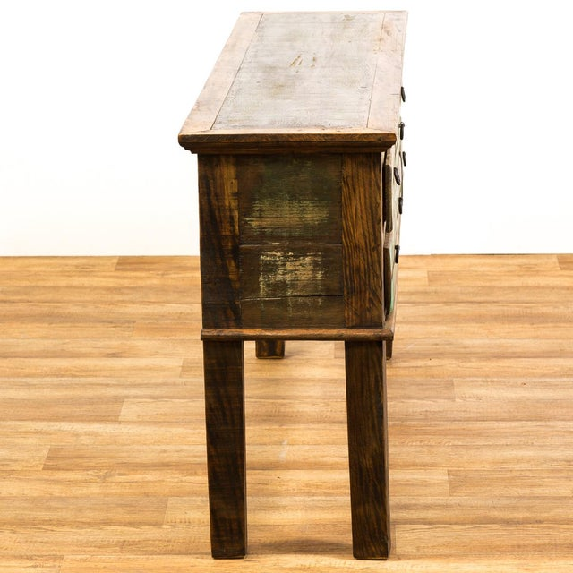 Antique Peroba Wood Console Table - Image 5 of 5