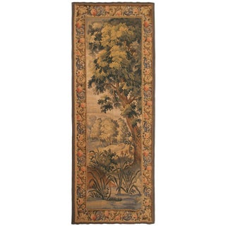 1900s Antique French Aubusson Tapestry For Sale