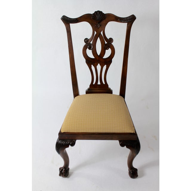 Chippendale Style Dining Chairs - Set of 8 For Sale - Image 10 of 11