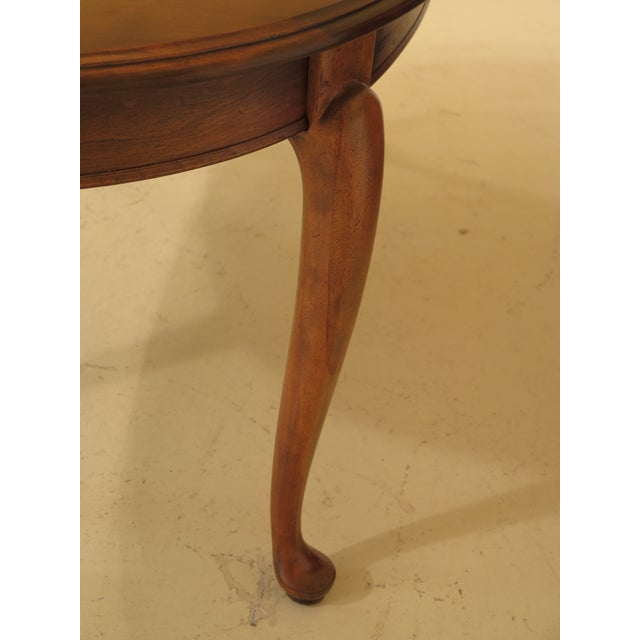 Ethan Allen Queen Anne Maple Dining Room Table | Chairish